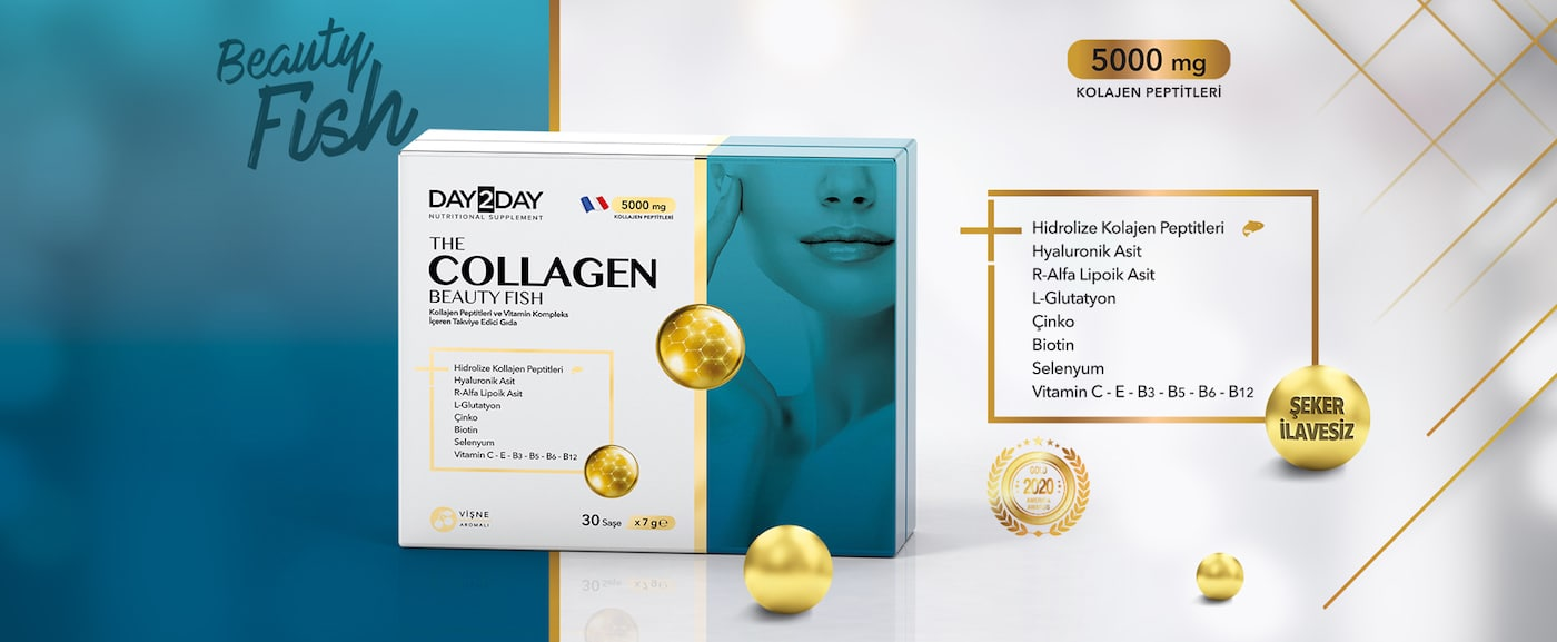 Day2day The Collagen Beauty Fish